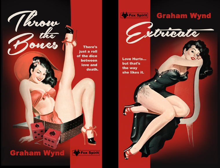 Extricate/Throw the Bones double cover by Graham Wynd