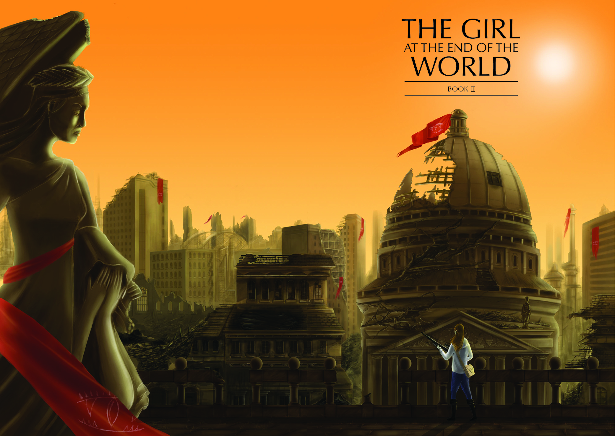 The Girl at the end of the World Vol 2 by Various
