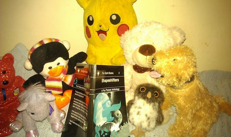K.A Laity lets Pikachu terrorise the teddies