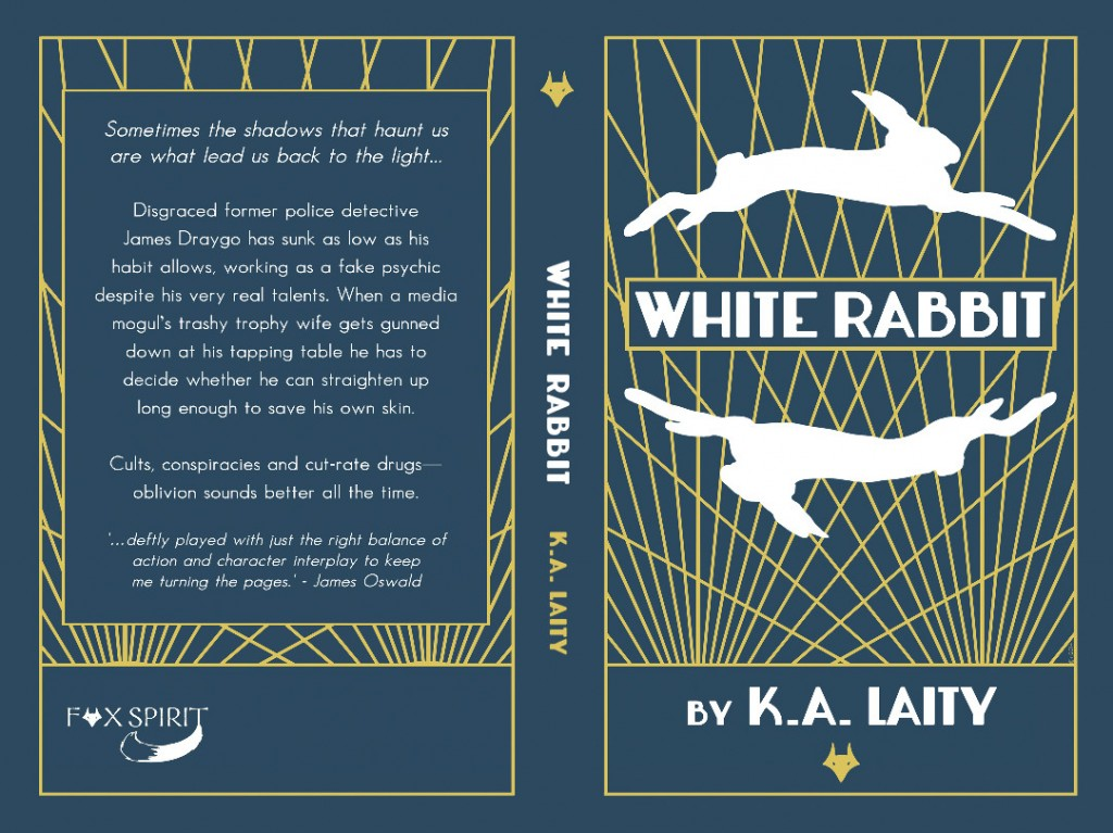 WHITE RABBIT PRINT BookCover
