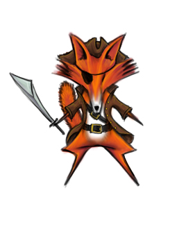 fox icon - test pirate