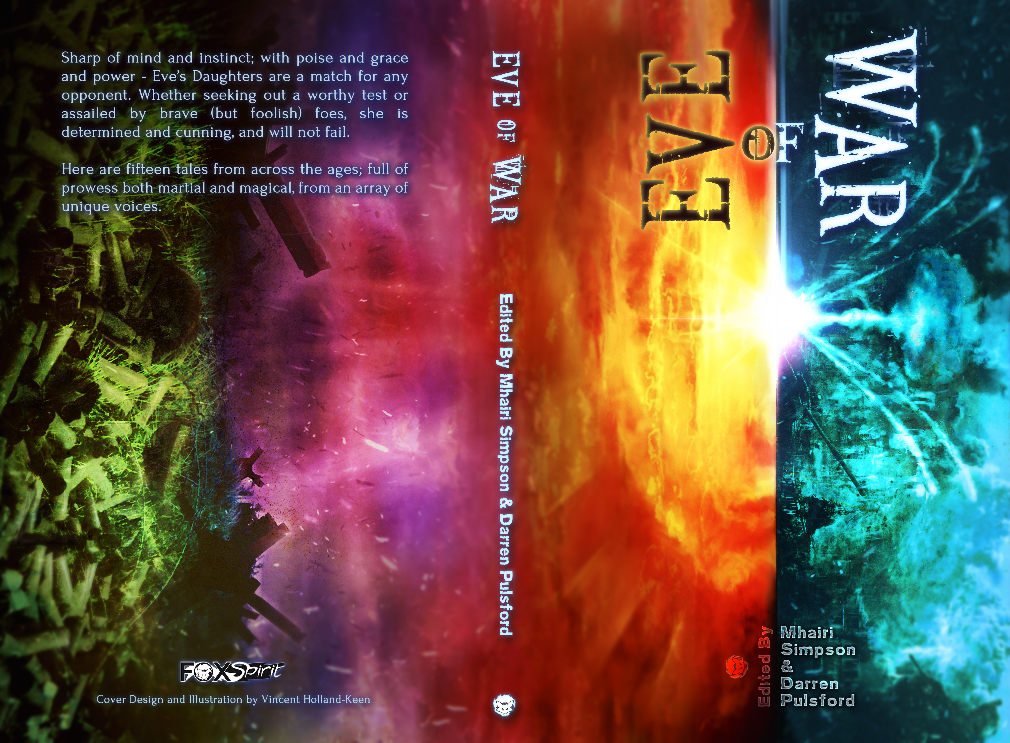 Eve of War edited by Darren Pulsford & Mhairi Simpson