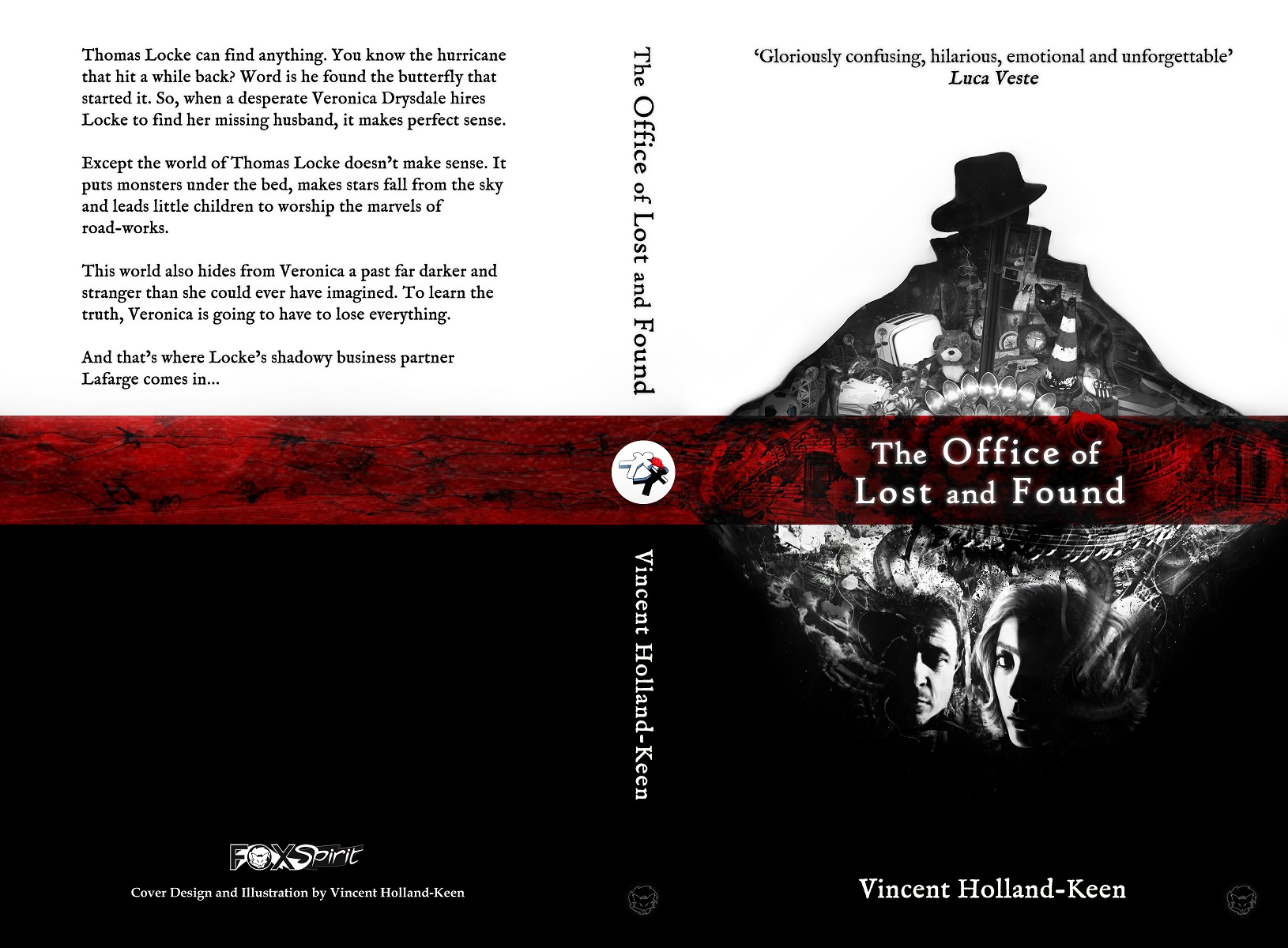 The Office of Lost and Found by Vincent Holland Keen