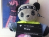 Jen's Panda plays pirate