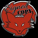 fox spirit - logo - large - signed copy