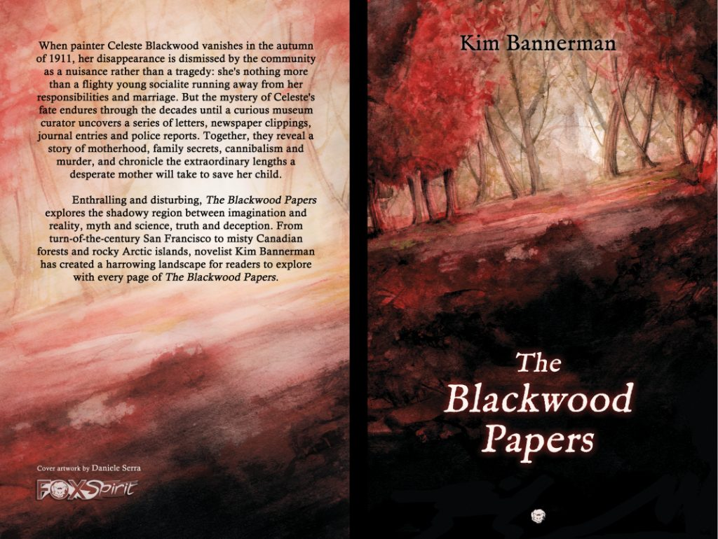 Coming Soon - The Blackwood Papers by Kim Bannerman